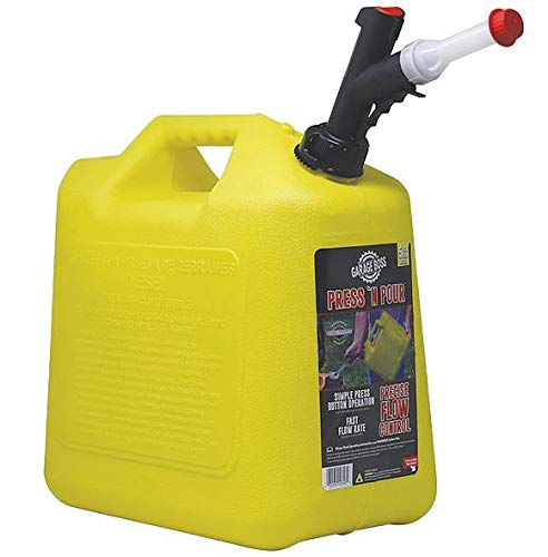 GARAGEBOSS Briggs and Stratton Press  N Pour Can, 5 Gallon (Diesel Fuel Can)