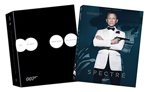 The Ultimate Bond Collection + Spectre Bundle [Blu-ray + Digital HD];Blank – None