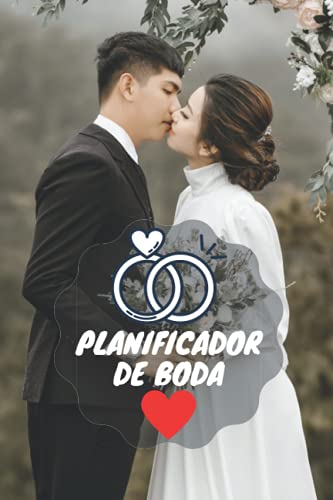 PLANIFICADOR DE BODA: Hermosa Agenda de boda y organizador para novias, regalo...