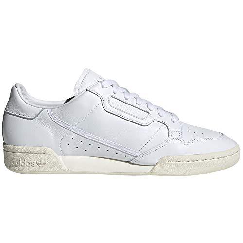 adidas Continental 80 Blancas, Zapatillas Deportivas para Hombre. Tenis, Sneaker. Nostalgia Vintage (42.5 EU, Total Integro Nuage Blanc)