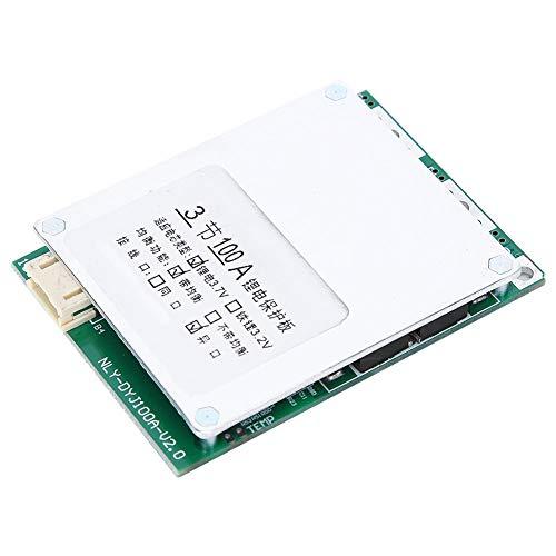 Changor Placa de protección de la batería de litio corta, tarjeta de protección de aluminio grueso 2,6 V 4,2 V con plástico más componentes electrónicos