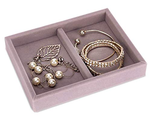 New Drawer DIY Jewelry Storage Tray Ring Bracelet Gift Box Jewellery Organizer Earring Holder Small Size Fit Most Room Space,Bracelets Tray