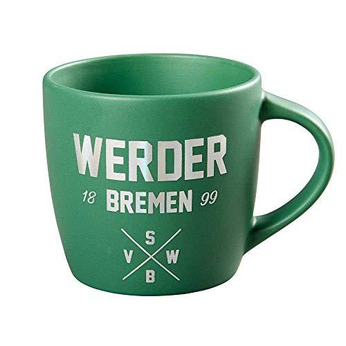 Werder Bremen SVW Tasse Metallic grün