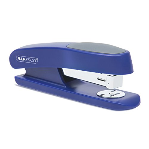 Rapesco Sting Ray - Grapadora de media carga, 20 hojas de capacidad, usa grapas 26/6 y 24/6 mm, azul