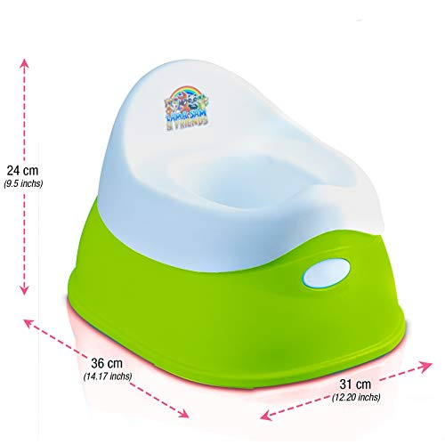 Lama Sam & Friends - vasino per bambini in 2 parti - Vasino da circa 18 mesi a circa 3 anni, funzione antiscivolo