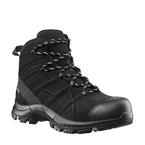 Haix 610022 Black Eagle Safety 53 Mid Black Size 10.5
