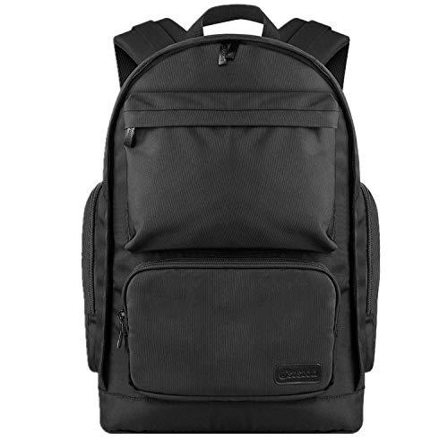 Drasawee Mens Fashion Canvas Backpack Hiking Daypacks High School College Backpacks Casual Shoulder Bag