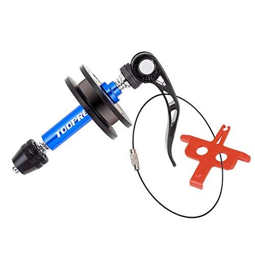 Tope para la cadena de la bicicleta, para cadena de bicicleta de montaña, herramienta tensor de cadena fijo para lavado de cadena, soporte protector para la cadena de la bicicleta