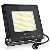 CP3 Focos LED Exterior 200W,LED Proyector Equivalente a...