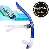 Swim Snorkel for Lap Swimming,Adult Swimmers Snorkeling Gear for Swimming Snorkel Training in