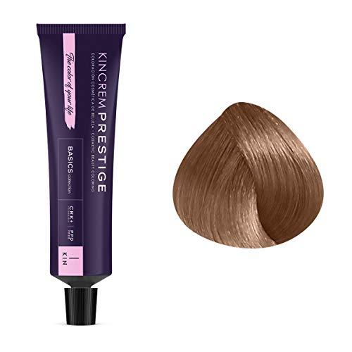 Coloration permanente enrichie à la kératine 8.1 - Blond Clair Cendré Kin Cosmetics