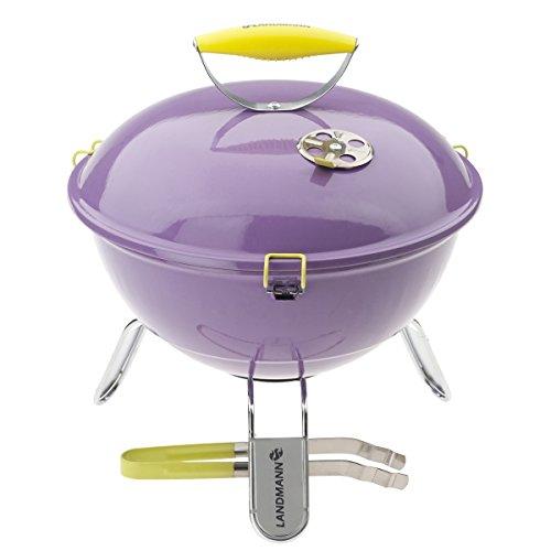 Landmann 31378 Barbecue per l'aperto e bistecchiera Porpora
