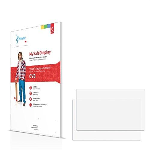 2x Vikuiti MySafeDisplay CV8 Displayschutz Schutzfolie für Swissphone Boss 920 Ex (Ultraklar, strak haftend, versiegelt Kratzer)