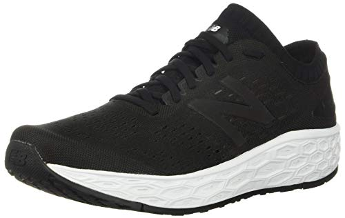 New Balance Men's Fresh Foam Vongo V4 Running Shoe, Black/Black Metallic, 8.5 W US