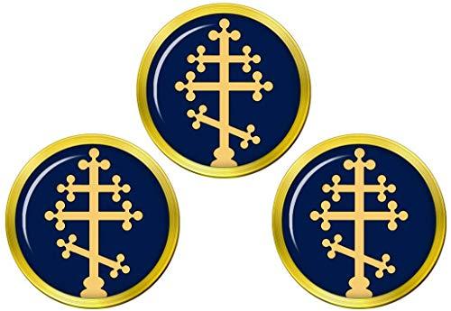 Giftshop UK Russisch Orthodoxe Cross Golfball Markierer