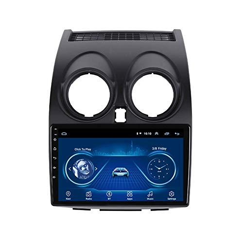 Kilcvt 9 Pulgadas IPS 2.5D Reproductor De Video Multimedia para AutomóVil NavegacióN GPS Android 10 Auto Radio, para Nissan Qashqai 2006-2013 Soporte Control del Volante/TV/Bluetooth