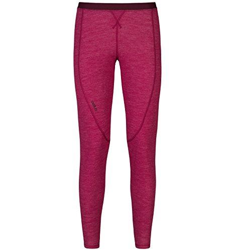 Odlo Révolution TW Warm sous-vêtement Fonctionnel de vêtements de Slips & Leggings Pantalon pour Femme XL Sangria Melange