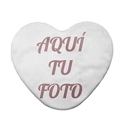 AR Regalos Cojín Personalizado con Foto (Corazón de 40 x 45 cm)