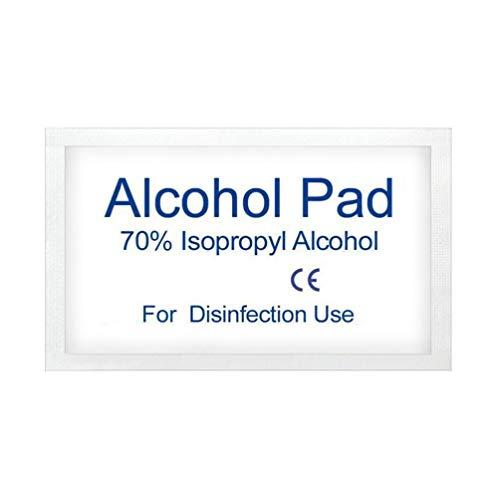 FAVOMOTO 500 Stks Alcoholdoekje Wegwerp Praktische Steriliserende Pad Niet-Geweven Reinigingsdoek Vochtige Doekjes…