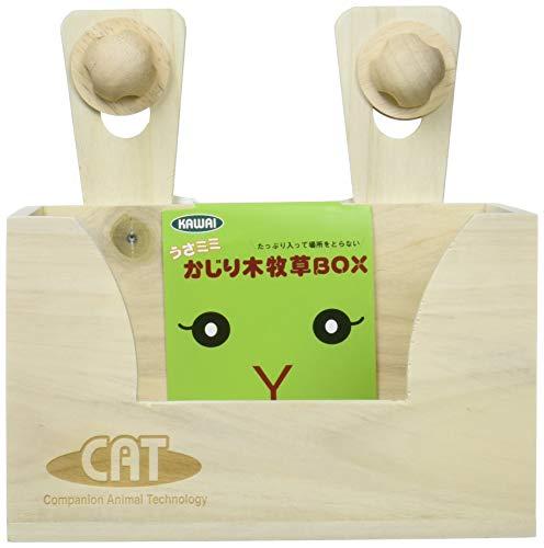 KAWAI『うさミミかじり木牧草BOX』