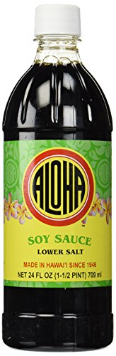 Aloha Low Sodium Shoyu 24 Oz.