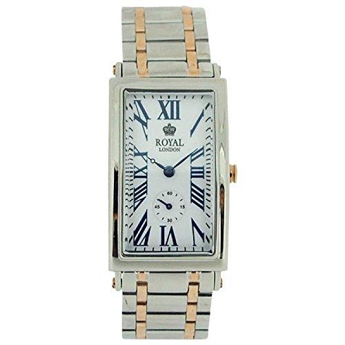 Royal London 21210–09Uhr für Frauen, Edelstahl-Armband Silber