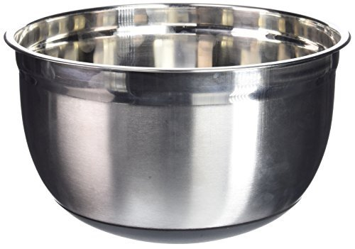 Winco MXRU-800 Mixing Bowl with Silicon Base, 8-Quart by Winco