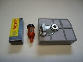 Stihl 031AV 031 032 Chainsaw Tune Up Service Maintenance Kit Air Filter