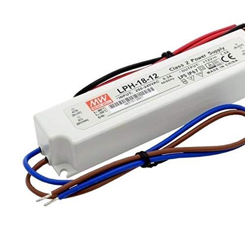 LED-Schaltnetzteil 15V 1000mA 15W IP42 APV-16-15 von Meanwell