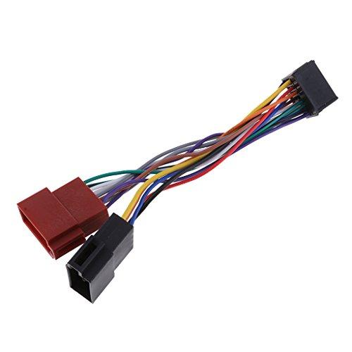 #N/A/a Il Ricevitore Radio ISO (Femmina) a 16 Pin Sostituisce Il Cavo del Cablaggio per