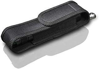 BLACK WOLF ブラックウルフ ライトケースM L 多様なライト対応 ベルト通し フック付き 懐中電灯ホルダー 作業ベルト ナイロンバッグ フラッシュライト ケース ポーチ クリップ 小型 持ち運び便利 ポールペン ホルスター