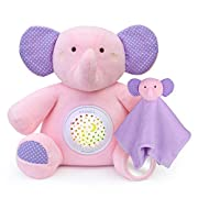 Rechargeable Baby Sleep Soothers, APUNOL White Noise Sound Machine Night Light Projector, Toddler Crib Sleep Aid with Cry Sensor, 18 Lullabies Newborn Shower Gifts Elephant Baby Toys