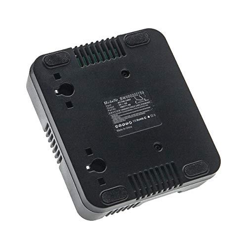 vhbw Cargador compatible con Trimble Nomad 1050L Numeric Key, 1050X, 1050XE dispositivo de medición -negro