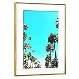 artboxONE Poster mit Rahmen Gold 45x30 cm OC Nature von Uma