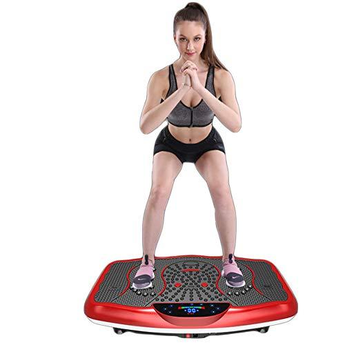 NXLWXN Plataforma Vibratoria De Fitness con Triple Motor 3D | Masaje De Terapia Magnética I Altavoces Bluetooth
