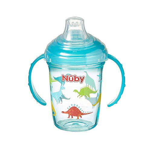 Grip'n'Sip First Sipeez Cup from Nuby Age 4-12m BPA Free (Dinosaurs)