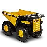 Tonka Toughest Mighty Dump Truck, Yellow, (L x W x H) 12.00 x 19.00 x 10.75 Inches