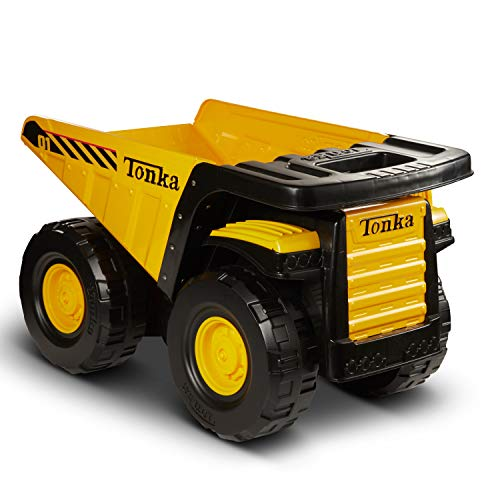Tonka Toughest Mighty Dump Truck, Yellow, (L x W x H) 12.00...