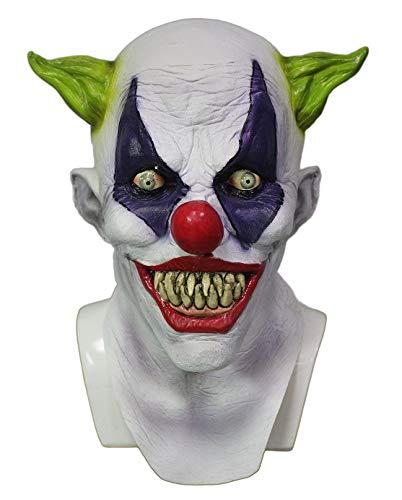 Hengyutoy Mask Disfraces de Payaso de Fiesta de Halloween máscara de Bromista de látex