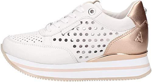 Apepazza - sneaker oro rosa con fondo platform apepazza - 35