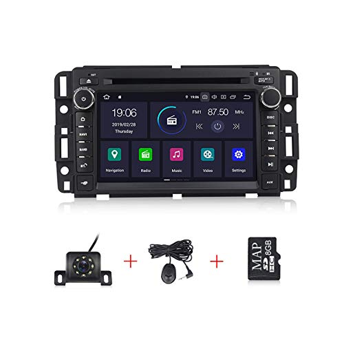 Android 10.0 Car Stereo 7 inch 2G RAM Car Radio for GMC Chevy Silverado Radio IPS DSP Touch Screen PX30 Car Multimedia Navigation Support DVD Bluetooth WiFi