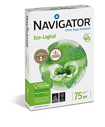 Navigator Eco-Logical - Papel multiusos para impresora - 75 grs 500 folios
