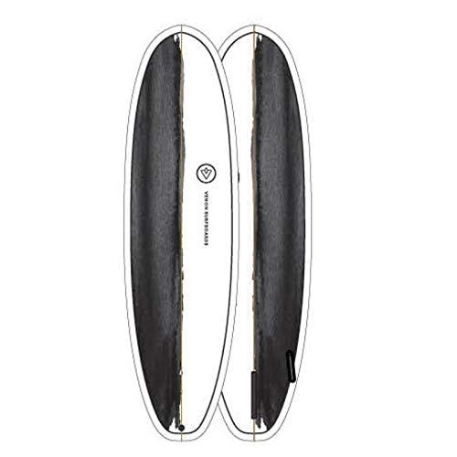 Venon EVO Hybrid Tabla de Surf - Black/White, 6.4 FT