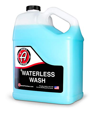 Adam's Waterless Wash (Gallon) - Car Cleaning Car Wash Spray for Car Detailing | Safe Ultra Slick Lubricating Formula for Car, Boat, Motorcycle, RV | No Garden Hose, Wash Soap, or Foam Cannon Needed