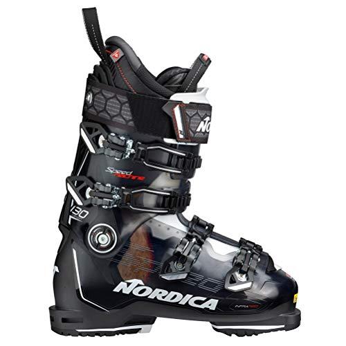 Nordica Speedmachine 130 Carbon Ski Boot TR Black/Black/White, 26.5