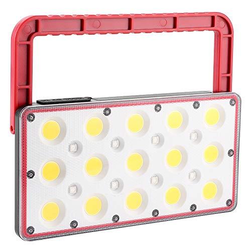 Annjom Luz de Emergencia, Luces de Trabajo LED COB Proyector multifunción Luz de inundación Luz de Emergencia para Exteriores Luz de Trabajo LED portátil para Acampar Senderismo