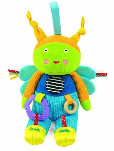Manhattan Toy - 210170 - Buggybu - Busy Bug - Jouet d'Activités