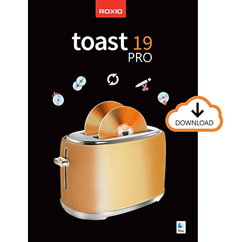 Roxio Toast 19 Pro | CD, DVD & Blu-ray Burner for Mac | Disc Burning, File Conversion, Multimedia Editing Suite [Mac Download]