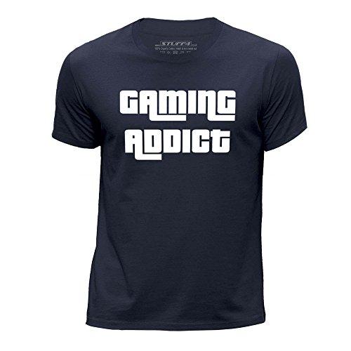 Stuff4 Jongens T-shirt/verslaving/Gaming/Ronde hals Casual Korte mouw 100% Organisch Katoen