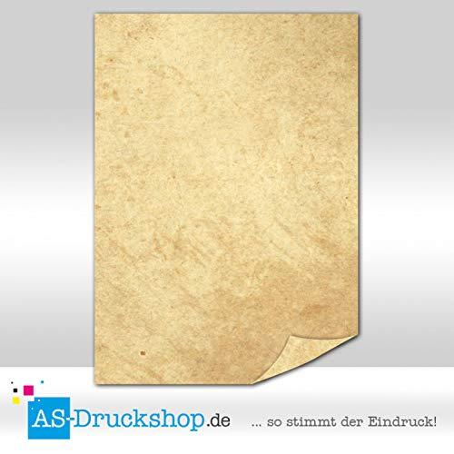 Papiro/pergamena–Struttura Liscia/100fogli di Carta/DIN A5/90G di offset